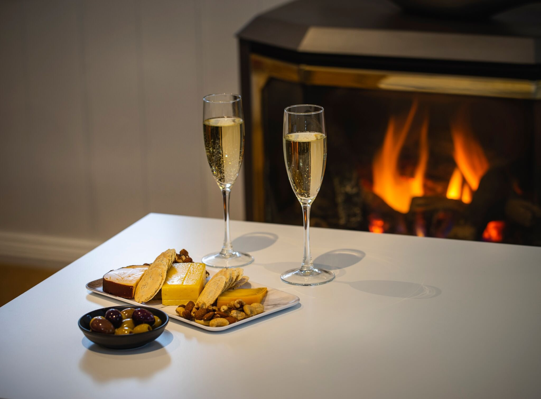 warm fire snow accommodation victoria